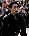 Takanohana, Tokyo, Japan, January 6, 2012 : Oyakata (Coaches) of Takanohana Heya, Koji Takanohana attends the &quot;ring entering ceremony&quot; for dedication at Meiji Shrine  Tokyo, Japan, on January 6, 2012. (Photo by AFLO)