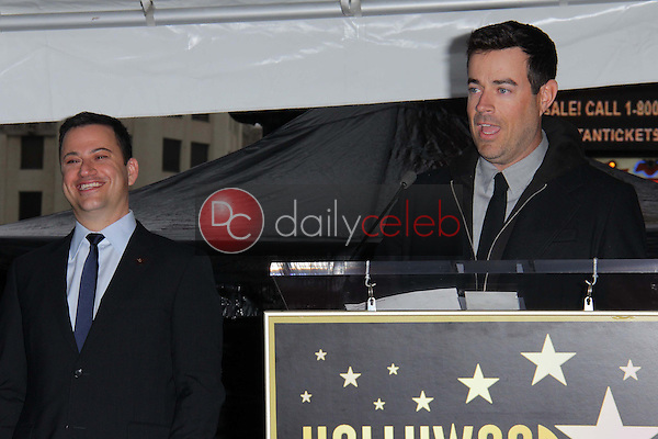 Jimmy Kimmel, Carson Daly<br />