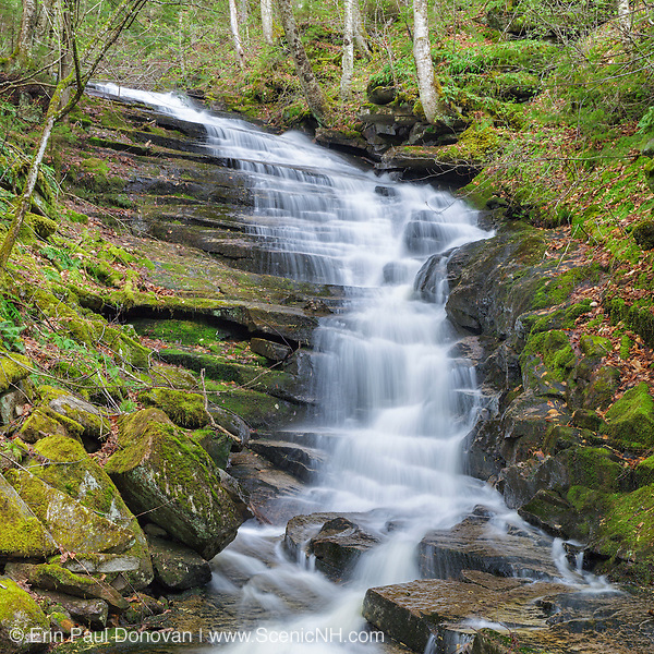 This is the image for May in the 2017 White Mountains New Hampshire calendar. Plimpton Falls in Franconia. The calendar can be purchased here: http://bit.ly/220sKru
