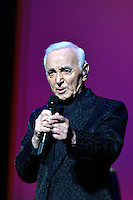APR 20 Charles Aznavour farewell concert in St.Petersburg. Russia