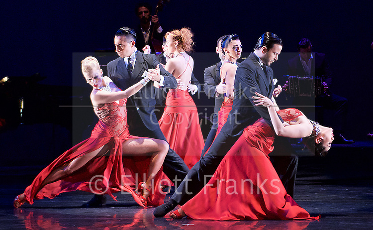 Tango Fire <br /> at The Peacock Theatre, London, Great Britain <br /> press photocall <br /> 30th January 2017 <br /> <br /> German Cornejo's Tango Fire<br /> <br /> ------<br /> <br /> German Cornejo &amp; Gisela Galeassi <br /> <br /> Sebastian &amp; Victoria <br /> <br /> Marcos &amp; Louise, Ezequiel &amp; Camila <br /> <br /> <br /> <br /> <br /> Photograph by Elliott Franks <br /> Image licensed to Elliott Franks Photography Services