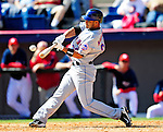 6 March 2010: New York Mets' outfielder Fernando Martinez in action during a Spring Training game against the Washington Nationals at Space Coast Stadium in Viera, Florida. The Mets defeated the Nationals 14-6 in Grapefruit League action. Mandatory Credit: Ed Wolfstein Photo