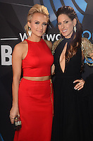 LOS ANGELES, CA - NOVEMBER 20: Savvy Shields, Kerri Kasem at Westwood One on the carpet at the 2016 American Music Awards at the Microsoft Theater in Los Angeles, California on November 20, 2016. Credit: David Edwards/MediaPunch