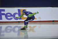 SPEEDSKATING: CALGARY: 12-11-2015, Olympic Oval, training, Ronald Mulder, ©foto Martin de Jong