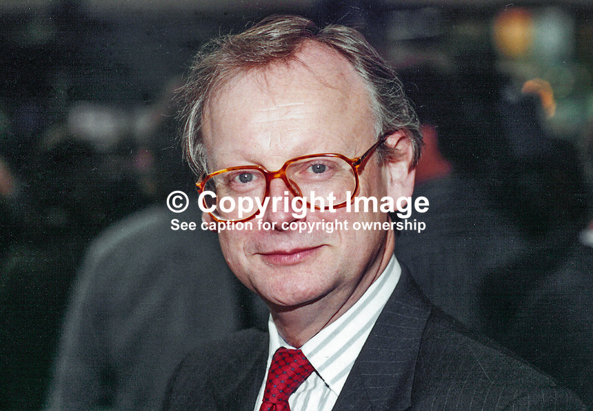 John Selwyn Gummer, MP, Conservative Party, Britain, UK, Westminster Parliament, 19951003/JSG/2.<br />