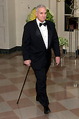 Governor Mark Dayton (Democrat of Minnesota) arrives for the State Dinner in honor of Prime Minister Trudeau and Mrs. Sophie Gr&eacute;goire Trudeau of Canada at the White House in Washington, DC on Thursday, March 10, 2016.<br /> Credit: Ron Sachs / Pool via CNP