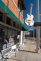 Memphis, Tennessee, February 2009. The Famous Sun studios and record label, where many rising rock 'n roal, blues and soul musicians started their career. The city of Memphis is the place where Blues and Soul Music grew famous. Photo by Frits Meyst/Adventure4ever.com