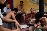 Monks and pagoda neighbors play &quot;Co Tuong&quot; also called &quot;Chinese Chess&quot; at the Giac Vien Pagoda in District 11 in Ho Chi Minh City, Vietnam. Photo taken Monday, May 3, 2010...Kevin German / LUCEO