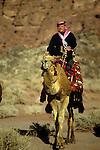King Abdullah II of Jordan in Wadi Rum