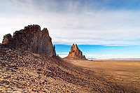 Shiprock Rock, New Mexico, USA