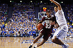 Craig Sword Miss. St. Guard drives through the UK defense at Rupp Arena in Lexington, Ky. on Tuesday, January 12, 2016. Photo by Josh Mott | Staff.