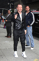 SEP 28 Donnie Wahlberg at The Late Show