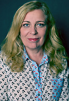 MIAMI BEACH, FL - MARCH 05: Director Lone Scherfig from the film 'Their Finestí poses for a portrait in the Vallerymag.com Portrait Studio during the 2017 Miami Dade Collegeís 34th Miami Film Festival portrait at The Standard Hotel on March 5, 2017 in Miami Beach, Florida. Credit: MPI10 / MediaPunch