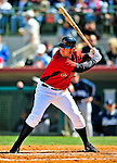 2 March 2009: Houston Astros' first baseman Lance Berkman in action during a Spring Training game against the New York Yankees at Osceola County Stadium in Kissimmee, Florida. The teams played to a 5-5, 9-inning tie. Mandatory Photo Credit: Ed Wolfstein Photo