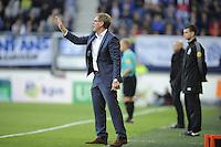 VOETBAL: HEERENVEEN: Abe Lenstra stadion 2015, SC Heerenveen, SC Heerenveen Trainer/Coach Dwight Lodeweges, ©foto Martin de Jong