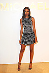 Model Grace Mahary Attends The Michael Kors Gold Collection Fragrance Launch Held at the Standard Hotel NYC