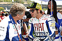 May 2, 2010 - Jerez, Spain - Fiat Yamaha Team's Italian Valentino Rossi talks on the grid prior the Moto GP race at Jerez de la Frontera's circuit on May 2, 2010. (Photo Andrew Northcott/Nippon News).