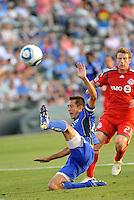 Davy Arnaud...Kansas City Wizards defeated Toronto FC 1-0 at Community America Ballpark, Kansas City, Kansas,