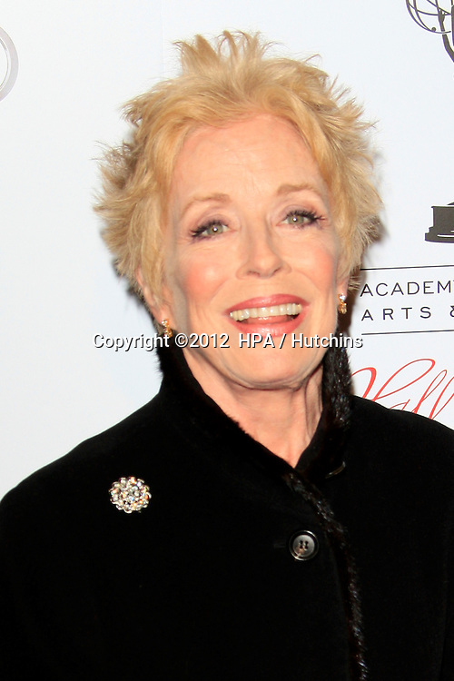 LOS ANGELES - MAR 1:  Holland Taylor arrives at the Academy of Television Arts & Sciences 21st Annual Hall of Fame Ceremony at the Beverly Hills Hotel on March 1, 2012 in Beverly Hills, CA