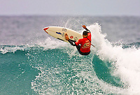 Sunny Garcia (HAW)..Andy Irons (HAW) defeat Sunny Garcia (HAW) in an all Hawaiian final of the annual Rip Curl Pro held at Bells Beach, Torquay, Victoria, Australia, over the Easter holiday break. Irons  jumped to the #1 spot on the world rankings after his win. (Photo: Joliphotos.com)