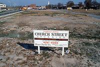 1987 November..Redevelopment.Church Street..CHURCH STREET CROSSING.CONSTRUCTION PHOTOS...NEG#.NRHA#..