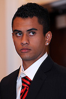 DC United midfielder Junior, at the 2011 Season Kick off Luncheon, at the Marriott Hotel in Washington DC, Wednesday March 16 2011.
