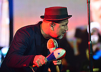 """CORAL GABLES, FL - AUGUST 27: Ruben Blades performs during """"Caminando, Adios Y Gracias concert"""" at Bank United Center on August 27, 2016 in Miami, Florida.  Credit: MPI10 / MediaPunch"""
