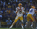 Ole Miss vs. LSU quarterback Zach Mettenberger (8) at Tiger Stadium in Baton Rouge, La. on Saturday, November 17, 2012. LSU won 41-35.....