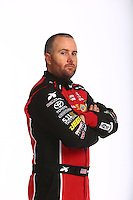 Jan 13, 2016; Brownsburg, IN, USA; NHRA top fuel driver Shawn Langdon poses for a portrait during a photo shoot at Don Schumacher Racing. Mandatory Credit: Mark J. Rebilas-USA TODAY Sports
