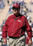 14 October 2006: FSU head coach Bobby Bowden. The Florida State University Seminoles defeated the Duke University Blue Devils 51-24 at Wallace Wade Stadium in Durham, North Carolina in an Atlantic Coast Conference NCAA Division I College Football game.