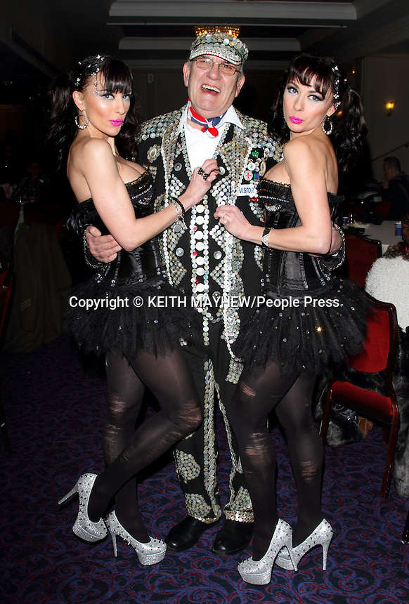 London - The Cheeky Girls at London Taxi Driver's Fund for Underprivileged Children - 'Mad Hatters Tea Party' at the Grosvenor House Hotel, Park Lane, London - January 20th 2013..Photo by Keith Mayhew