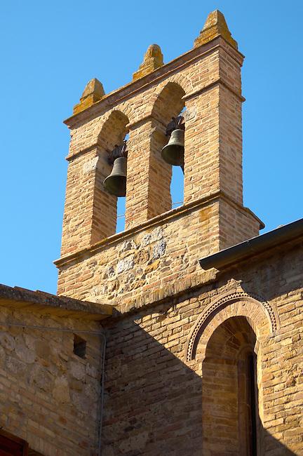 Medieval Bell Tower - San Gimignono Italy.
