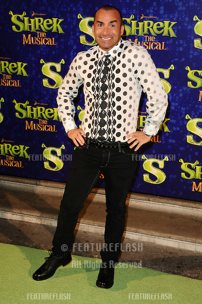 "Louie Spence arrives for the 1st night party of ""Shrek The Musical"" at Somerset House, London. 14/06/2011  Picture by: Steve Vas / Featureflash"