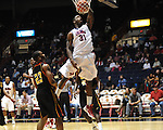 "Ole Miss' Murphy Holloway (31) dunks vs. Grambling State during the first half at the C.M. ""Tad"" Smith Coliseum in Oxford, Miss. on Monday, November 14, 2011.."