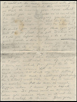 BNPs.co.uk (01202 558833)<br /> Pic: IAALtd/BNPS <br /> <br /> ***Use Full Byline***<br /> <br /> Page two of Edward VIII letter. <br /> <br /> A remarkable letter written by controversial monarch Edward VIII that exposes him as an ungrateful, sexist and racist prince has come to light.<br /> The Prince of Wales, who later became the first King to voluntarily abdicate, told of the 'miserable and loathsome' time he was having on a Caribbean cruise.<br /> He visited Barbados in 1920 in what was supposed to be a diplomatic trip of the British Empire but he described the tropical paradise as a 'bum place'.<br /> The Royal reported the local scenery as being 'ugly' and he found the 'coloured population' to be 'revolting'.<br /> The letter is being sold on Saturday in London.