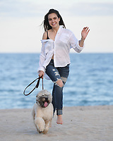 FORT LAUDERDALE FL - APRIL 25: Bailee Madison poses for a portrait on Fort Lauderdale Beach on April 25, 2017 in Fort Lauderdale, Florida. Credit: mpi04/MediaPunch
