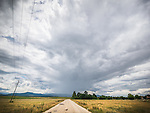 Highway and clouds, Village of Slavotin, Bulgaria