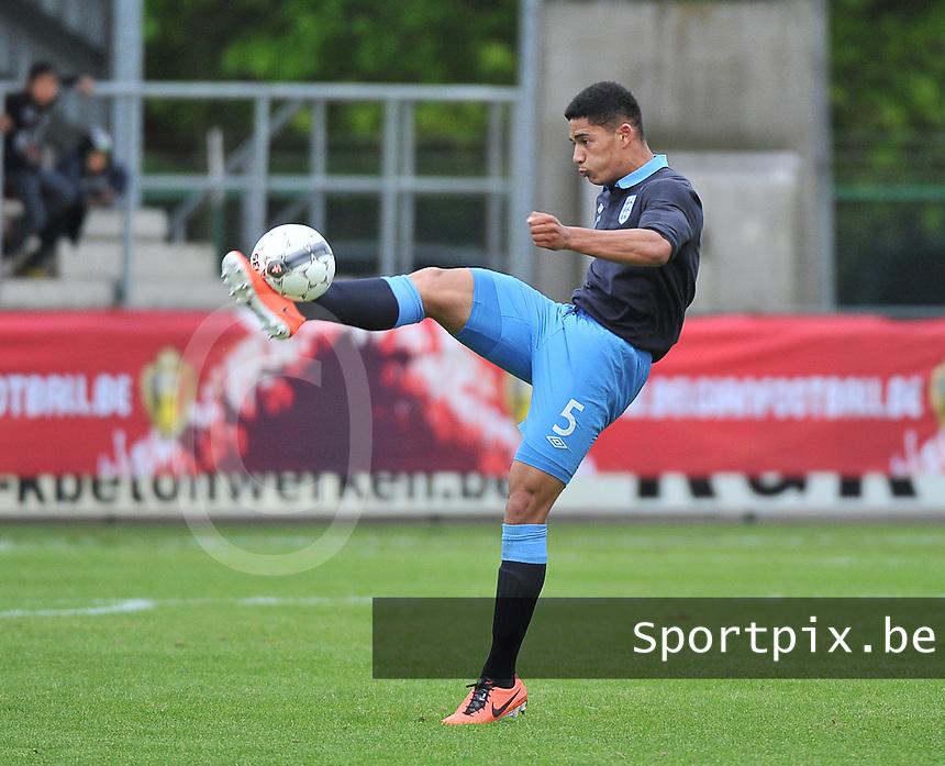 Belgium U19 - England U19 : Tyias Browning.foto DAVID CATRY / Nikonpro.be