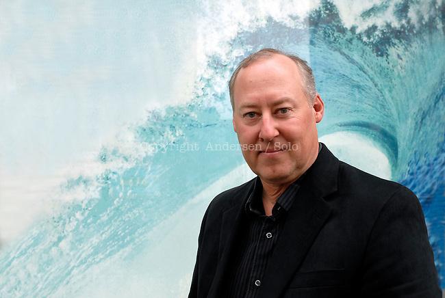 Stewart O'Nan, American writer, Paris April 2012.