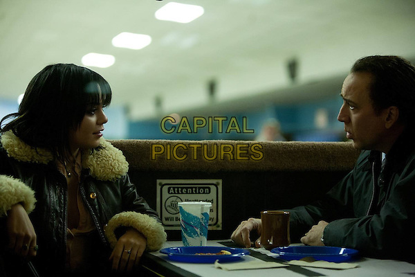 Vanessa Hudgens &amp; Nicolas Cage<br /> in The Frozen Ground (2013) <br /> *Filmstill - Editorial Use Only*<br /> CAP/NFS<br /> Image supplied by Capital Pictures