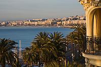 Europe/France/Provence-Alpes-Côte d'Azur/06/Alpes-Maritimes/Nice: Promenade des Anglais vue depuis l' Hôtel: Le Négresco