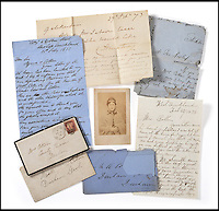 BNPS.co.uk (01202 558833)<br /> Pic: TennantsAuctioneers/BNPS<br /> <br /> The never-seen-before letters of a woman believed to be Britain's first serial killer that offer an insight into her final days have emerged for sale 143 years later.<br /> <br /> Mary Ann Cotton was hung on March 24, 1873, after being found guilty of murdering her stepson, but she was believed to have had as many as 21 victims.<br /> <br /> Although there was no evidence to convict her, she is thought to have used arsenic to poison and kill three of her four husbands, possibly as many as eight of her own children, seven stepchildren, her mother, a lover and an inconvenient friend.<br /> <br /> Now letters cleared from her cell by the matron of Durham Jail are being sold for the first time at Tennants Auctioneers in Leyburn, North Yorkshire.