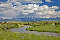 Teton River, Teton Valley, Idaho
