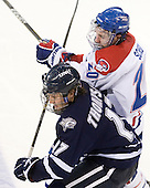 Paul Thompson (UNH - 17), Michael Scheu (Lowell - 20) - The visiting University of New Hampshire Wildcats defeated the University of Massachusetts-Lowell River Hawks 3-0 on Thursday, December 2, 2010, at Tsongas Arena in Lowell, Massachusetts.