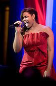 Washington, DC - January 20, 2009 -- American Idol Jordan Sparks performs at the Commander-in-Chiefs Ball at the National Building Museum, Washington, D.C., Tuesday, January 20, 2009. The ball, hosted by United States President Barack Obama, honored Americas service members, families the fallen and wounded warriors..Credit: Chad J. McNeeley - DoD via CNP