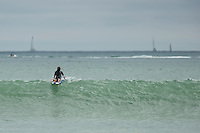 Maddie and Dara Surfing at Doheny