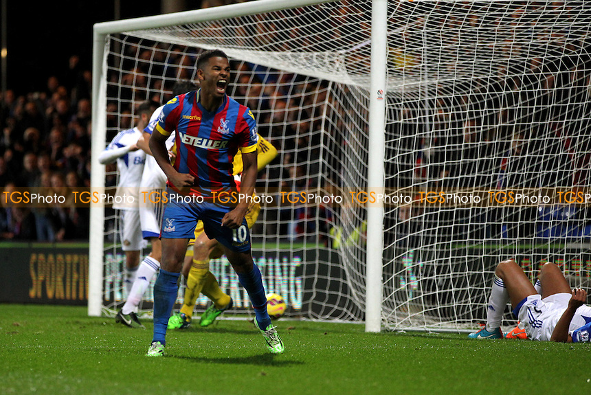 Frazier Campbell of Crystal Palace celebrates the equaliser - Crystal Palace vs Sunderland - Barclays Premier League Football at Selhurst Park, London - 03/11/14 - MANDATORY CREDIT: Simon Roe/TGSPHOTO - Self billing applies where appropriate - contact@tgsphoto.co.uk - NO UNPAID USE