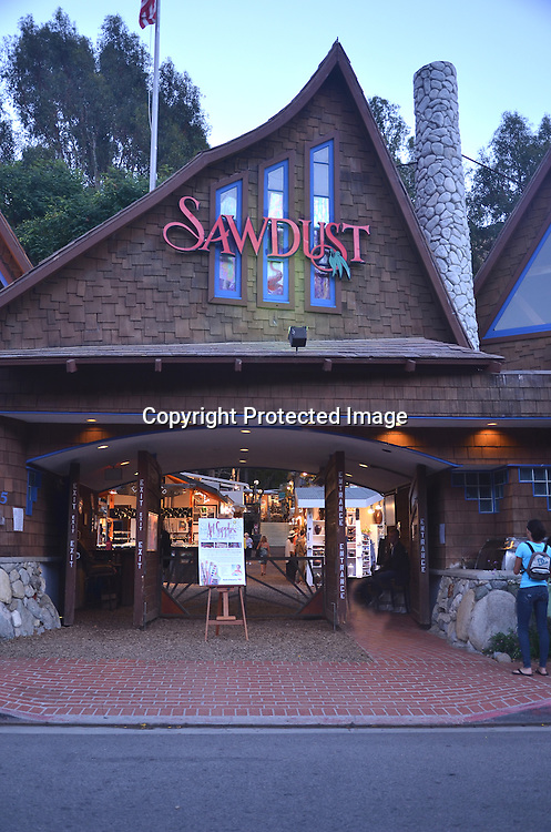 Sawdust Laguna Beach California