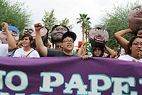 """No Papers, No Fear"" Immigration March in Phoenix, Arizona"