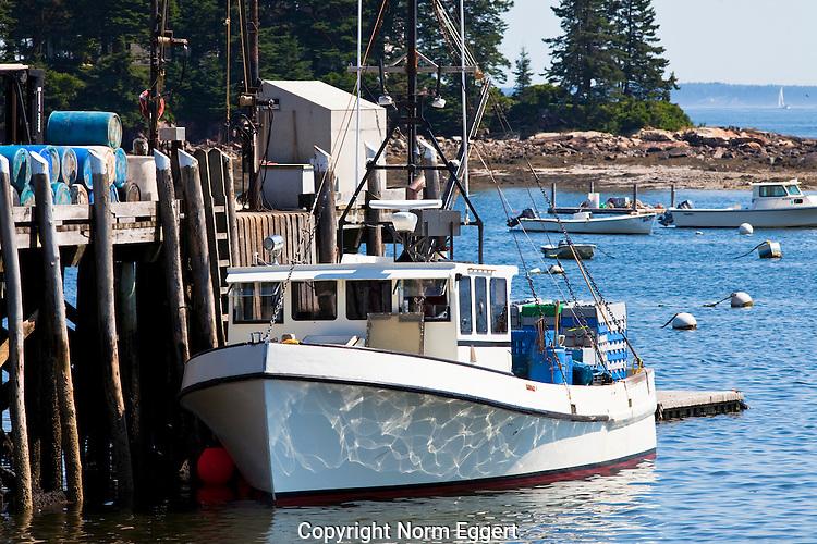 Fishing Boat Docked at Owl's Head